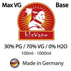 hisVape Max VG Base 70/30