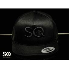 SQuape Trucker Cap 3D Black in Black