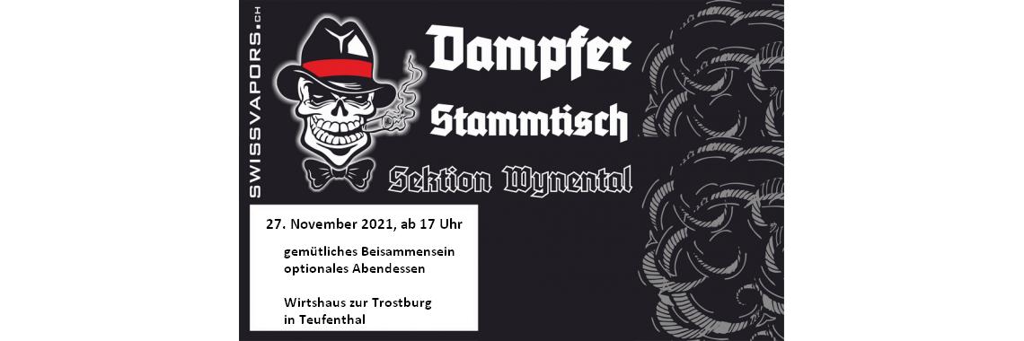 Dampfer Stammtisch - Sektion Wynental