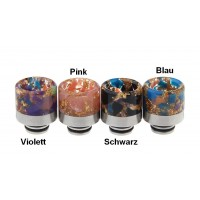 Resin Chromstahl Hybrid Drip Tips  Ø 15mm