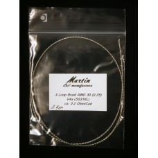 Martin Coils - 3LVB V4a AWG30 ca. 0,2 Ohm (40 cm)